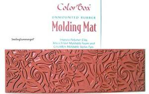 Deco Naut Polymer Clay Molding Mat Texture Rubber Stamp
