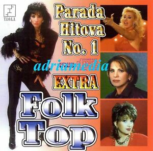 EXTRA FOLK TOP CD Lepa Brena Biljana Jevtic Semsa Goca Narodna Balkan Hit Serbia