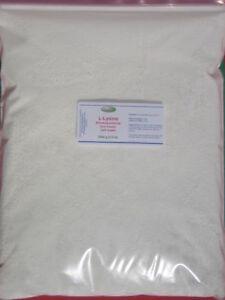 L-Lysine-Powder-1Kg-2-2LB-lean-muscle-calcium-collagen