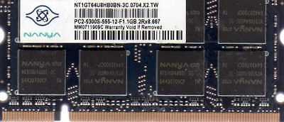 1gb Sony Vaio Vgn-fs742/w Vgn-fs745p/h Vgn-sz120/b Vgn-sz120p/b Ddr2 Ram Memory