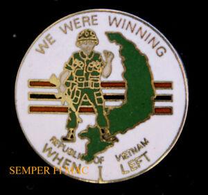 WE-WERE-WINNING-WHEN-I-LEFT-VIETNAM-WAR-LAPEL-HAT-PIN-UP-US-ARMY-NAVY-AIR-FORCE