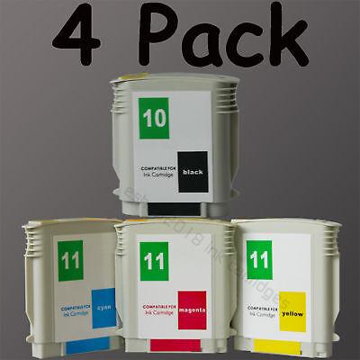 1 Set Ink Cartridge 10/11 For Hp Printer Hp10+hp11