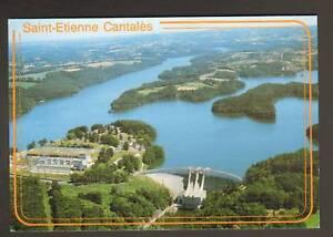 SAINT-ETIENNE-CANTALES-15-BARRAGE-amp-LAC-vue-aerienne