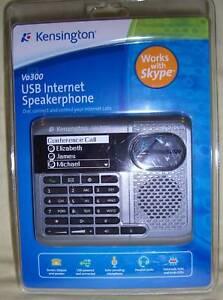 Kensington-Vo300-USB-Internet-Speakerphone-Works-Skype