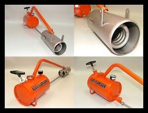 New-Sheen-X300-Flame-Gun-Spare-Parts-Trolleys-Hoods
