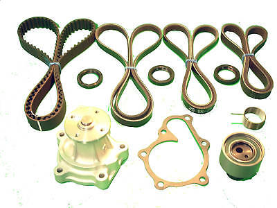 Timing Belt Kit Fits Nissan Maxima 1994 V6 Tensioner Water Pump Drive Belts Seal