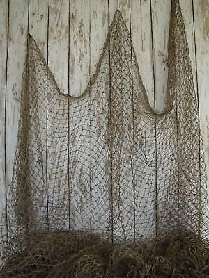 Authentic used fishing net fish netting decor decorative for Decorative fishing net