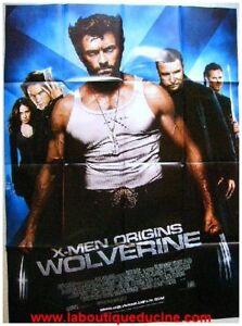 X-MEN-ORIGINS-WOLVERINE-Affiche-Cine-Poster-H-JACKMAN