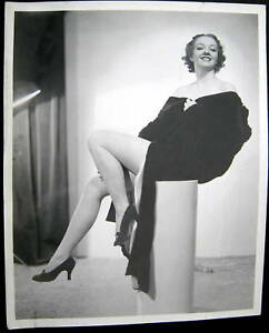 1940s patricia martin long legs stockings pin up photo ebay. Black Bedroom Furniture Sets. Home Design Ideas