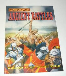 Warhammer Ancient Battles Historical Core Book New