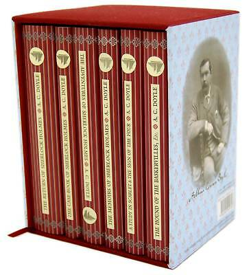 Sherlock Holmes 6 Books Box Set Collectors Library