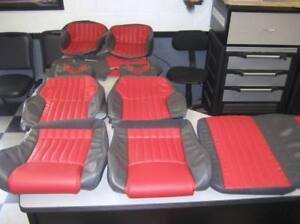 93 02 Firebird Non Lumbar Style Medium Grayw Red Seat