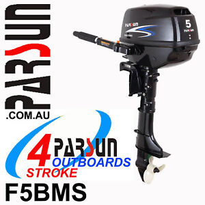 5HP-PARSUN-Outboard-4-stroke-Short-Shaft-BRAND-NEW-2yr-FULL-FACTORY-Warranty