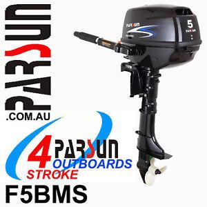 5HP-PARSUN-Outboard-4-stroke-Short-Shaft-BRAND-NEW-2yr-FULL-FACTORY-Warranty