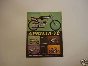 Image Is Loading Advertising Advertising 1973 Moto Aprilia Hummingbird