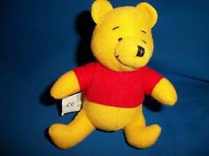 WINNIE-the-POOH-Mini-PLUSH-Toy-DOLL-Disney-European-NESTLE-MAGIC-Premium-1998