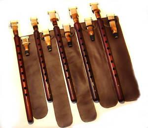 5-Armenian-Professional-DUDUK-10-REEDS-5-Leather-Cases-PRO-DUDEK-Oboe-Mey-Ney