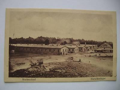 AK Markendorf 1916 Barackenlager Jüterbog Feldpost