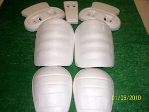 NIP-Martin-Adult-Size-Slotted-7-Piece-Football-Pad-Set-Thigh-Knee-Hip-Tail-Pads