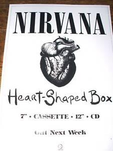 Nirvana 'Heart-Shaped Box'Poster