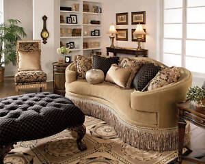 appealing traditional fabric sofas living room furniture | Geneva European Traditional Fabric Sofa Couch Chair Living ...