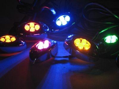20 Led Motorcycle Pod Lights Ultra Bright 5 Lots 4 Leds