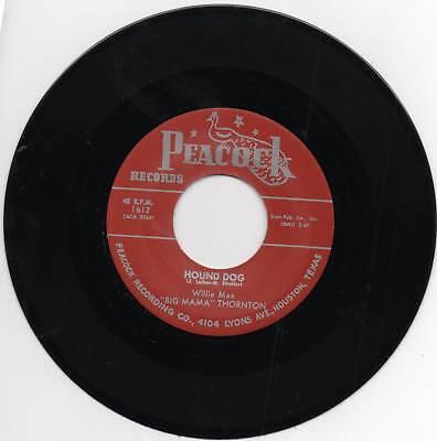 BIG MAMA THORNTON - HOUND DOG - GREAT FEMALE R&B -ORIGINAL VERSION OF ELVIS SONG