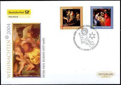 BRD 2004: Weihnachten Post-FDC der Nr 2429+2430 mit Berliner Sonderstempel! 1702