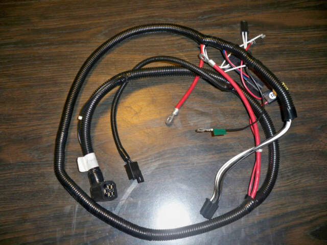 craftsman riding lawn mower wiring harness 140410 ebay rh ebay co uk Simplicity Lawn Tractor Spark Plug Simplicity Lawn Tractor Spark Plug