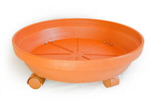KECO 18 inch Rolling Plant Saucer Caddy