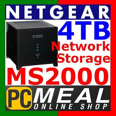 Netgear Stora MS2000 4TB 4000GB Media Network Storage