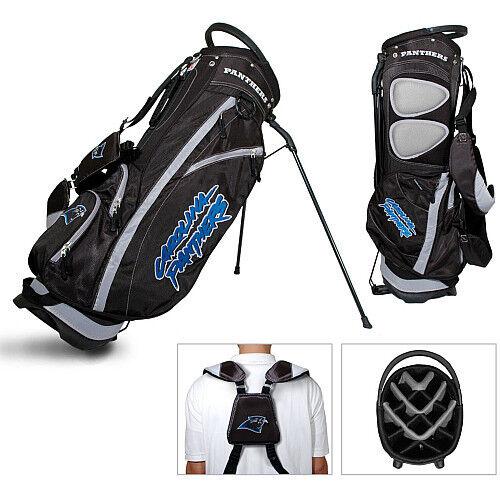 New Licensed Team Golf Nfl Carolina Panthers Fairway Divider Stand Bag