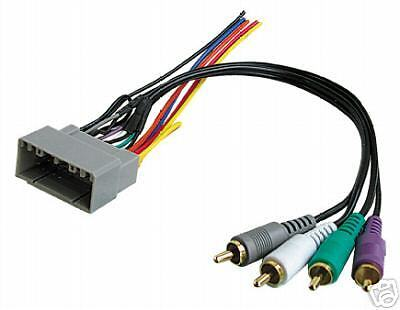 Radio Infinity Sound System Wire Wiring Harness Cable 2