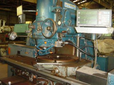 Kearney Trecker Vertical Mill Model Tf-17 Wsony Dro