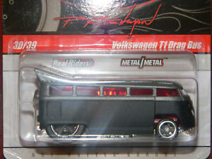 Hw hot wheels 10 phils garage 30 vw volkswagen t1 drag bus for Garage volkswagen paris 10