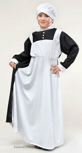 Florence-Nightingale-Victorian-Edwardian-Nurse-History-Costume-Outfit-New-9-12