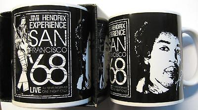 """JIMI HENDRIX TASSE """"SAN FRANCISCO 1968"""" KAFFEETASSE MUG"""