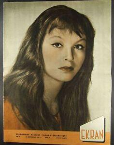 MARINA VLADY mag.31/1957 Brigitte Bardot,Anita Bjork - europe, Polska - Zwroty są przyjmowane - europe, Polska