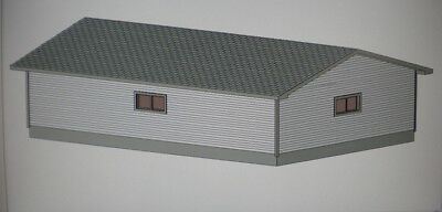 24 39 x 36 39 garage shop plans material list blueprints ebay for Material list for garage