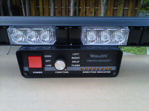 whelen controller whelen control box new 8led weather resistant traffic advisor