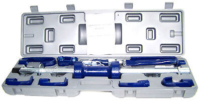 HEAVY DUTTY  18 PC 10 LB DENT PULLER HAND BODY SHOP FRAME DOOR  REPAIR TOOLS