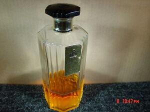 Vintage-Rare-Lanvin-Arpege-Glass-Perfume-Bottle-Bakelit