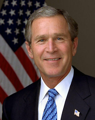 President George W  Bush Official Portrait 8 X 10 Photo Photograph Picture