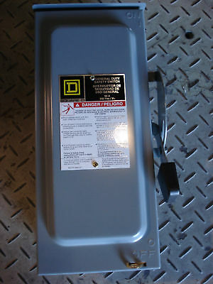 In Box Sqd Safety Switch Catd222nrb 60a/240v