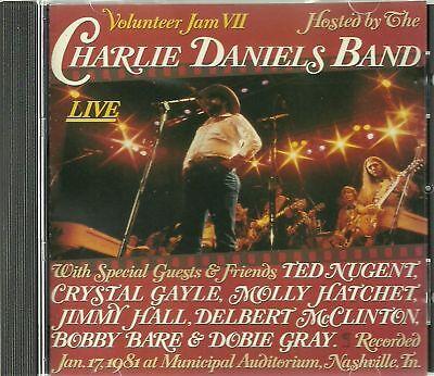 Charlie Daniels Volunteer Crystal Gayle Ted Nugent Molly Hatchet Cd