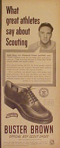 1950-Ralph-Kiner-Pirates-Buster-Brown-Boy-Scouts-Shoes-Baseball-Memorabilia-Ad