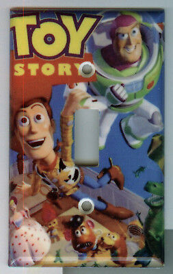 Toy Story Light Switch Plate Cover Woody Buzz Lightyear