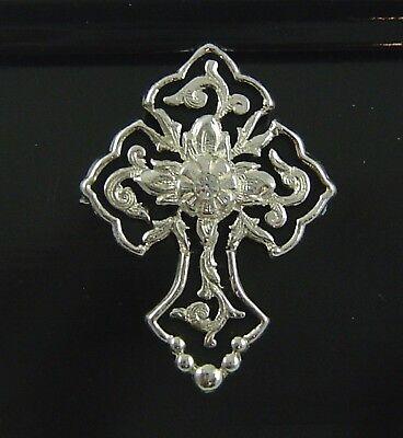Cross Hat Pin