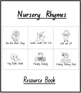 Nursery Rhymes Book on CD - Teacher Resource 40pp, Early Childhood