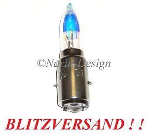 BILUX HALOGEN GLÜHLAMPE BA20d 12V 35/35W + 30% Licht